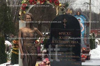 Бронзовый бюст на могилу
