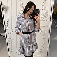 Платье в полоску Диор, фото 1