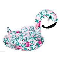 Надувной матрас Modarina  Фламинго с цветочным принтом 150 см NW3017, фото 1