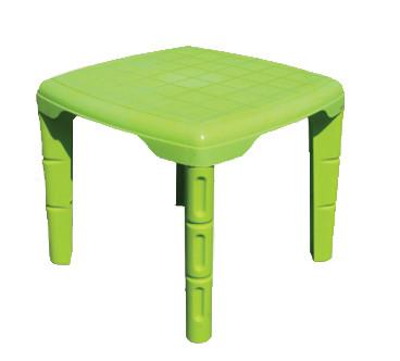 Столик детский квадратный, пластик, 560*560  САЛАТОВЫЙ, Од