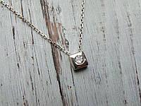 подвес подвеска кулон серебро женская украшения Серебряная