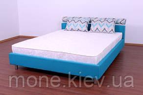 """Кровать """"Ален"""" двуспальная с мягким изголовьем + 2 подушки, фото 2"""