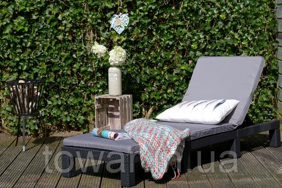 Шезлонг садовый Daytona Curver Keter + подушки Венгрия