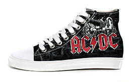 Кеды Rock Shoes AC/DC (36-39), Размер (Rock Shoes) 36 (23,5 см)