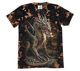 Футболка Hell Dragon (Tie Dye), Размер L