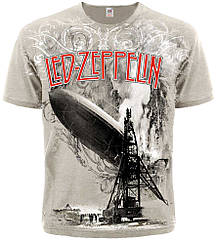 "Футболка Led Zeppelin ""I"" (khaki t-shirt), Размер M"