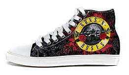 Кеды Rock Shoes Guns n'Roses (40-46), Размер (Rock Shoes) 45 (29,4 см)
