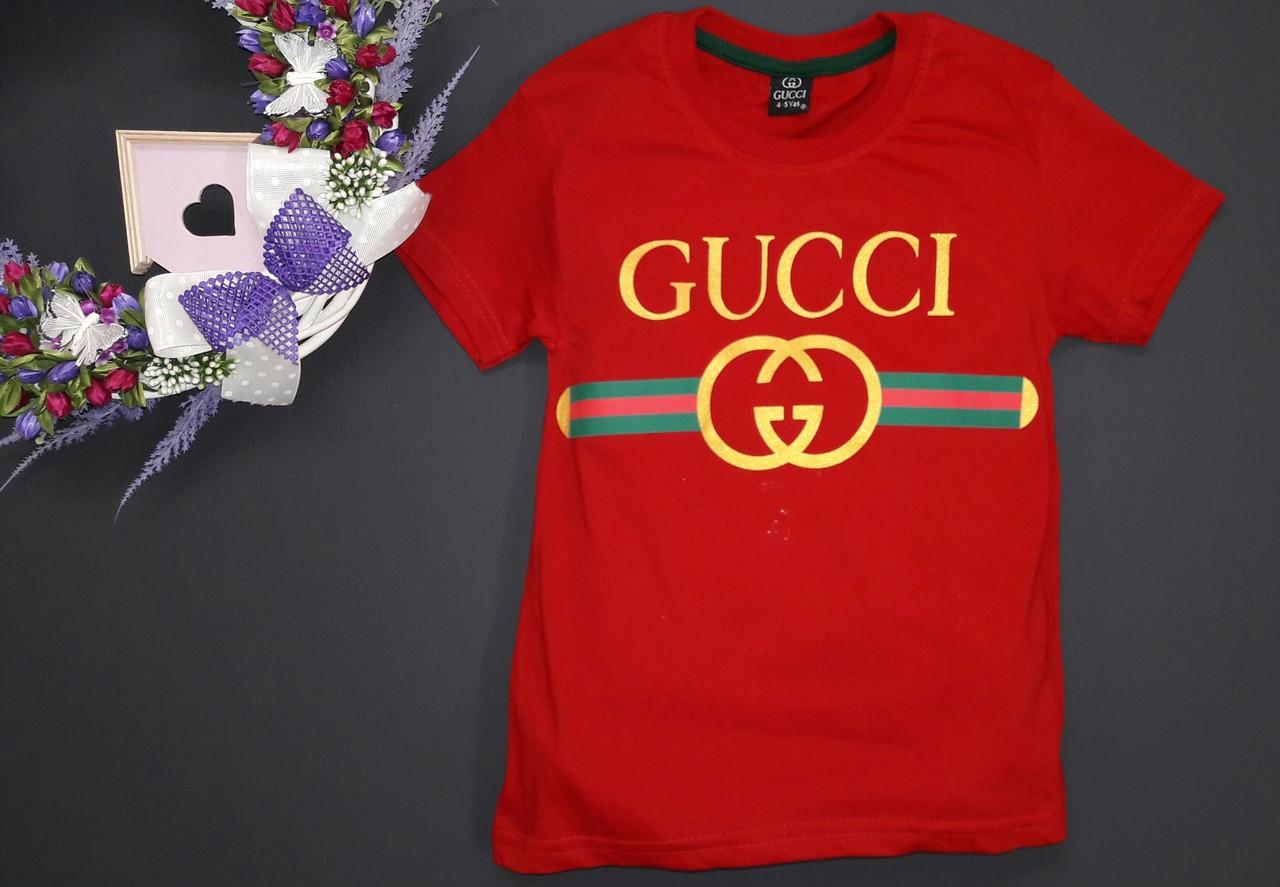 00504aea708a2 Стильная футболка детская гучи - KinderAM - интернет - магазин детской  одежды в Киеве