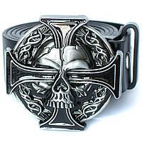 Пряжка Кельтский крест с черепом, Комплект поставки товара Пряжка (без ремня)