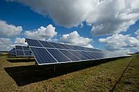 Система креплений солнечных батарей для наземного размещения на 32 шт (10 кВт)