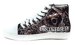 Кеды Rock Shoes Disturbed (36-39), Размер (Rock Shoes) 36 (23,5 см)