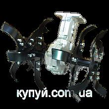 Насадка-культиватор для бензокосы  28 мм штанга (вал 9 шлицов)