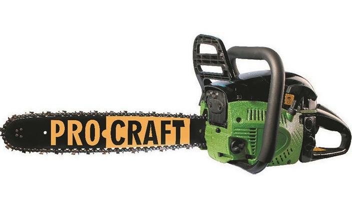 Бензопила ProCraft K450 2 шины + 2 цепи (45 и 40 шина). Бензопила ПроКрафт