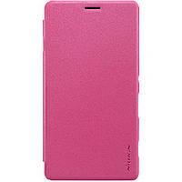 Чехол книжка NILLKIN Sparkle Apple iPhone 7 Pink