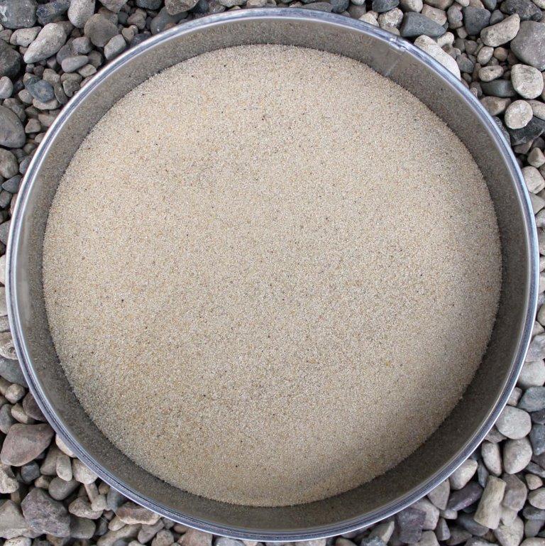 Пісок Кварцовий Преміум якості для малювання (колір натуральний) 1 кг