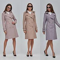 Женское демисезонное  пальто тренч  ПВ-88  (р.42-52)