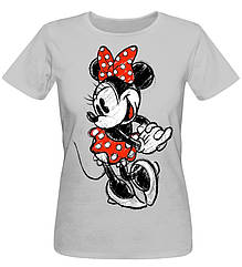 Футболка Urbanist Minnie Mouse Female Grey, Размер S
