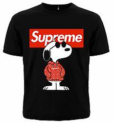 """Футболка Supreme """"Louis Vuitton"""", Размер XXL"""