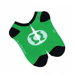 Короткие носки Green Lantern (р.36-41)