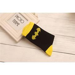 Носки Batman Logo (yellow logo) (р.36-43)