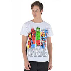 Футболка Urbanist Marvel White, Размер XL