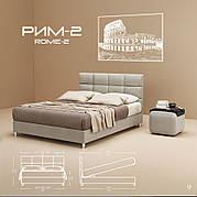 Кровать РИМ - 2 Стандарт GreenSofa