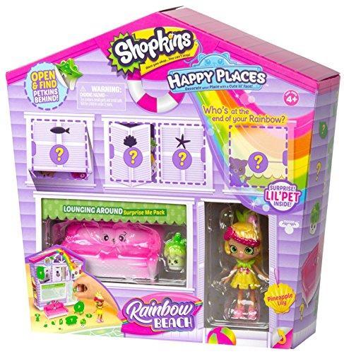 Игровой набор Шопкинс мебель кукла шопкинсы Коробка сюрприз Shopkins Happy Places