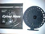 Катушка инерционная с тормозом СУПЕР КАЧЕСТВО 150мм ( SIWEIDA), фото 4