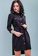 Платье 12-1117 - черный: S М L XL, фото 1