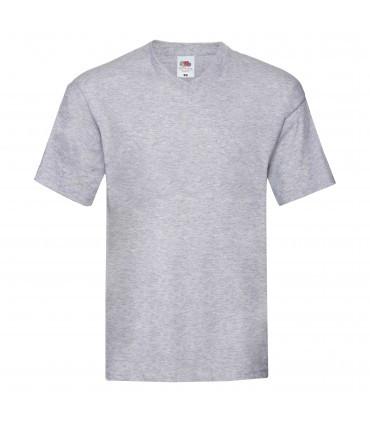 Мужская футболка с v-образным вырезом тонкая светло-серая 426-94