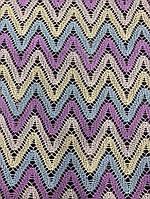 Ткань макраме (кружево) цветное, фото 1