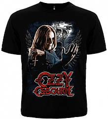 Футболка Ozzy Osbourne (photo with cross), Размер L