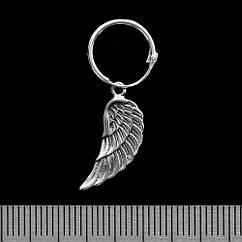 Серьга, кольцо с крылом (eas-064)