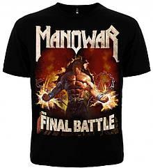 """Футболка Manowar """"Final Battle"""" (world tour), Размер S"""