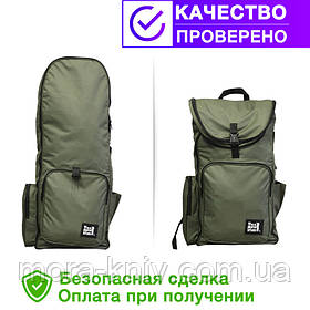 Рюкзак для металлоискатель (металоискателя, металошукача) и лопаты (2018-olive)