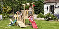 Детская игровая площадка Blue Rabbit Cascade с 2 горками, фото 1