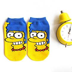 Короткие носки Marge Simpson (р.36-41)
