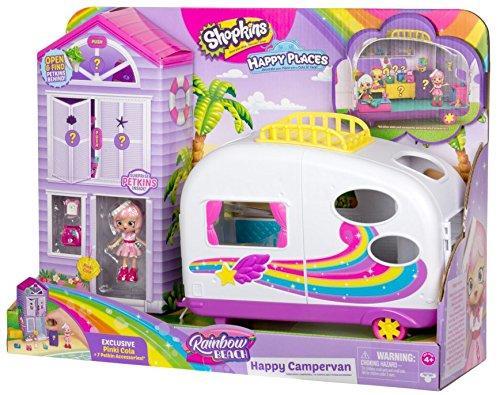 Игровой набор  Шопкинс трейлер для отдыха мебель кукла плюс шопкинсы  Shopkins Cutie Cars