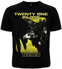 "Черная футболка Twenty One Pilots ""Trench"", Размер XXL"