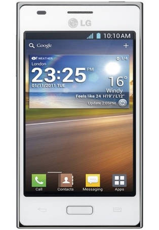 Чехол для LG Optimus L5 e612