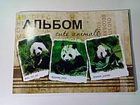 Альбом А4 60 листов 120 (100) г/м², скоба ПАНДА