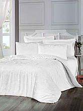 Комплект  постельного белья из  жаккарда евро размер ТМ ALTINBASAK benna krem