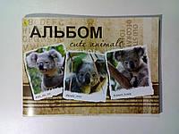 Альбом А4 60 листов 120 (100) г/м², скоба КОАЛА