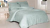 Комплект постельного белья из жаккарда евро размер ТМ ALTINBASAK benna mint
