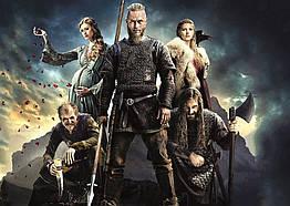 Плакат Vikings