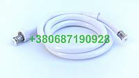 Белый шланг для душа длина 1,5 метра, фото 1