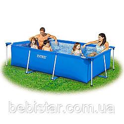 Каркасный прямоугольный бассейн INTEX (28271/58980) размер 260 х 160 х 65 см