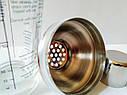 Шейкер для коктейлів GA Династія скляна 400 мл, 24036, фото 3