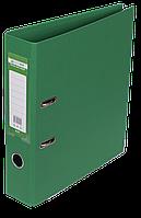 Папка-регистратор Buromax Elite А4 PVC 70 мм зелёный