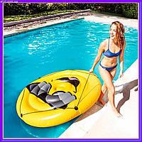Пляжный надувной матрас - плот Intex 57254 «Смайл», 173 х 27 см